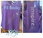Womens Guest Instructor Racer Back Tri-Blend tank top