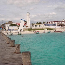 Resort guided bike ride to Puerto Morelos