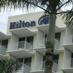 Hilton took over the property in 2009