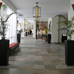 Lobby and shops