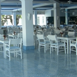 Upscale buffet with lots of options for breakfast