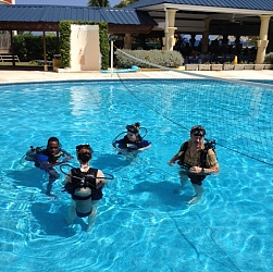 Scuba Class ready for Ocean