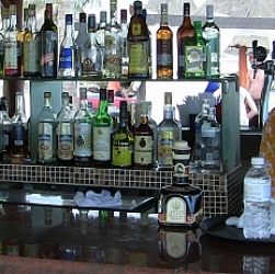 top shelf alcohol options