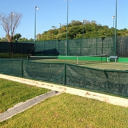 Tennis courts!