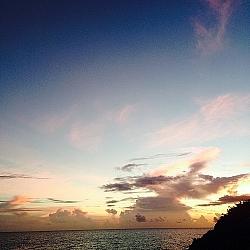 Beautiful St. Martin Sunset
