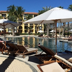 Adult pool at Dreams Los Cabos