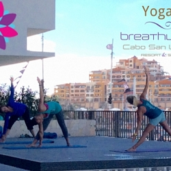 yoga at Breathless Cabo