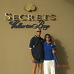 Veena and her husband