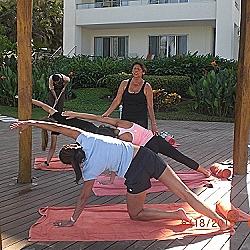 Valerta Bay Resort,veena teaching yoga