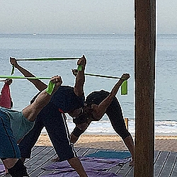 Yoga w/ bands