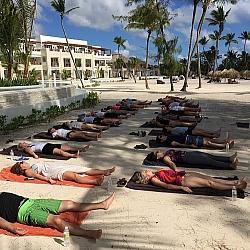 yoga class cap cana