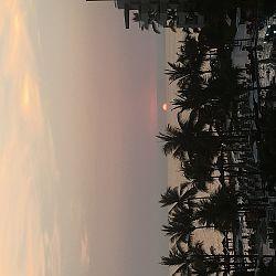 Beautiful sunsets - lobby view