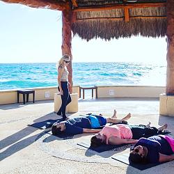 Teaching near the ocean