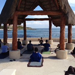 The most beautiful place to teach yoga!