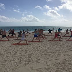 Beach Yoga or Stretching  9:30am Daily