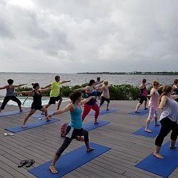 Sandpiper Bay Outdoor Yoga