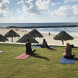 Lovely spots for yoga  class or sculpting