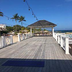 Beach Gazebo platform