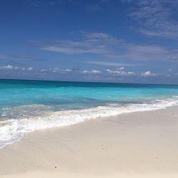 Amazing aqua blue ocean