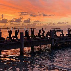 Yoga at Club Med