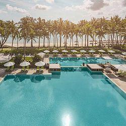 Bintan Island pool to beach